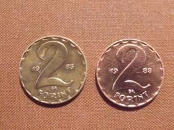 Számomra ismeretlen 2 forintos 1983