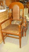 Art-decó karfás szék párban