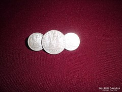 1-1/2 real ezüst érmekitüző /1894-1895/ Ag. 0.835