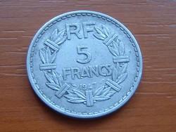 FRANCIA 5 FRANK 1947 NYITOTT 9