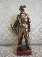 Vas munkásőr szobor
