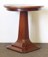 0N834 Régi szecessziós körasztal szalonasztal