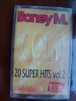 Boney M 20super hits vol2 magnókazetta
