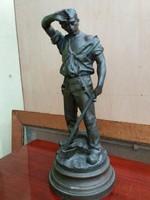 Spiáter Favágó szobor