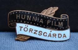 HUNNIA FILM  TÖRZSGÁRDA  kitűző    (zománcozott)