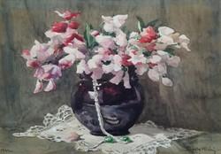 Glock Klára festmény