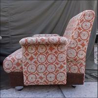 Retro karfás fotel párban