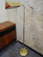 Art deco sárgaréz állólámpa