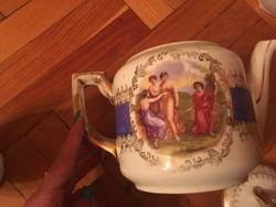 Altwien SG porcelán, kézzel festett