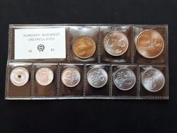 Forint forgalmi érme sor 1981 + FAO 10 Forint!