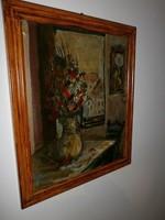Olaj vászon festmény eladó Holló l 49 szignóval