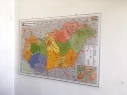 Stiefel Magyarország fali térkép