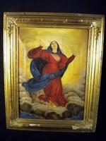 P143 Tiziano : Mária mennybemenetele részlet 1846