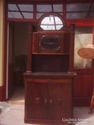 Felújított szeccesziós tálaló szekrény