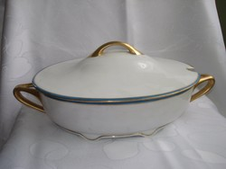 Fischer Emil porcelán leveses tál