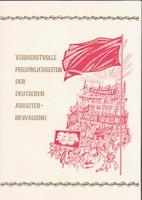 1974. DDR- emléklap