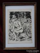Nem kell? - Frans Masereel(1889-1972): Gyötrelem