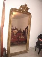 Nagyon öreg barokk tükör