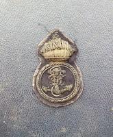 I. világháborús Osztrák-Magyar Monarchiás haditengerész sapkarózsa KuK