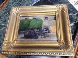 Kiss Hermina festménye eladó