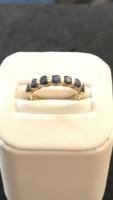 Zafírköves gyűrű