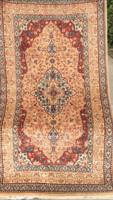 Gyönyörű Kashmir gyapjú perzsa szőnyeg 91x166-cm