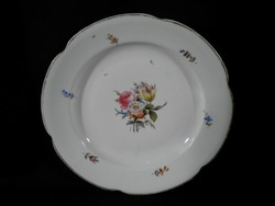 R112 Antik nagyméretű Meisseni porcelán tál
