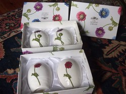 Új-csodás kivitelű Angol fűszerszóró+díszdoboza márkás angol porcelán ajándékba is