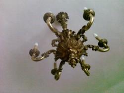 Aranyozott nyírfa 6 ágú csillár