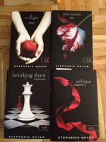 Stephenie Meyer Twilight sorozat 4 db-os