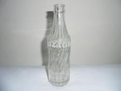 Sztár üdítős üveg palack - domborfeliratos - 0.2 l