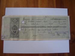 45000 Korona 1925 Váltó Ritka .