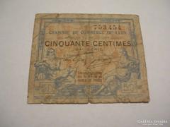 50 Centimes 1920 Lyon