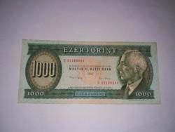 Bartók 1000 forint 1993 December  E, ritka  , nagyon szép állapotban!