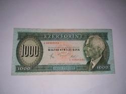 Bartók 1000 forint 1983-as Március A sorszám , ritka  , ropogós bankjegy!