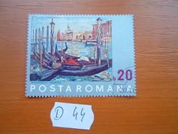 ROMÁNIA 20 BANI 1972 UNESCO akció - Velence megmentése D44