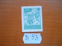 JUGOSZLÁVIA 1 DINÁR 1945- Partizánok D53