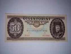 50 Forint 1989-es Nagyon szép ropogós bankjegy  !