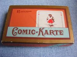 Comic-Karte 2x52 lapos francia kártya reprint kiadás