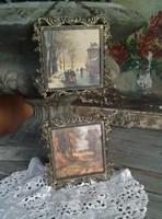Fém képkeret fényképtartó fali