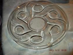 Csodás üveg tányér  29 cm
