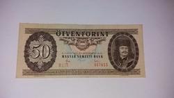 50 Forint 1983-as nagyon szép ropogós bankjegy!