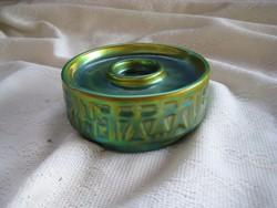 Zsolnay eosin  asztal közép   120x50 mm