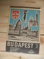 Budapest térkép 1975-ből