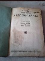 Antik könyv - 1920.kiadású  IDÖSB DUMAS   A régens lánya