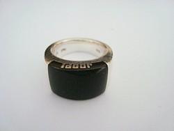 JOOP! ezüst gyűrű onixal 15 gr