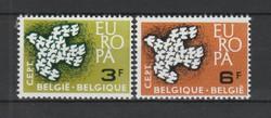 EUROPA-CEPT Belgium 1961 postatisztán (Kat.: 1 Euro) (154)