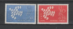 EUROPA-CEPT Franciaország 1961 postatisztán (Kat.: 1 Euro) (156)