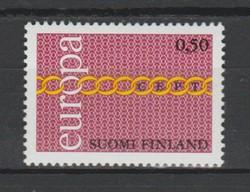 EUROPA-CEPT Finnország 1971 postatisztán (Kat.: 2,50 Euro) (159)