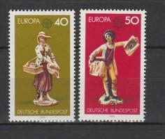 EUROPA-CEPT Németország 1976 postatisztán (Kat.: 1,40 Euro) (165)